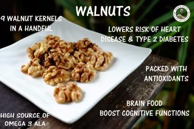 Walnut Nutrition and Health Benefits